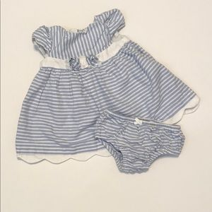 Mayoral stripe dress